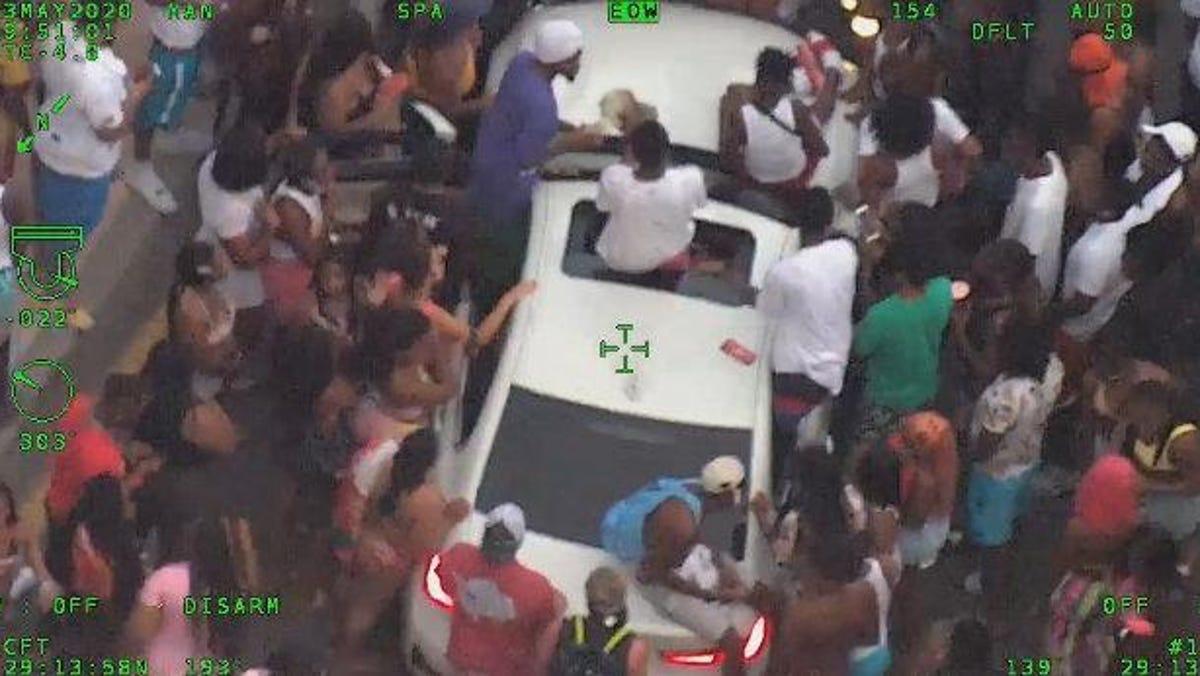 5 people had gunshot wounds at Daytona beachside