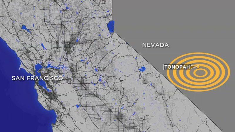 6.5 Magnitude Earthquake hit Nevada