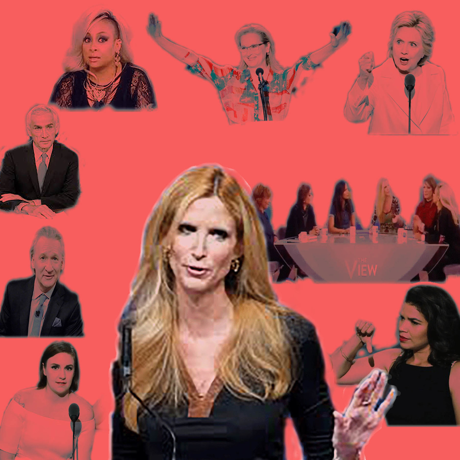Ann Coulter called the president an unfaithful obstruction and a babbling fool