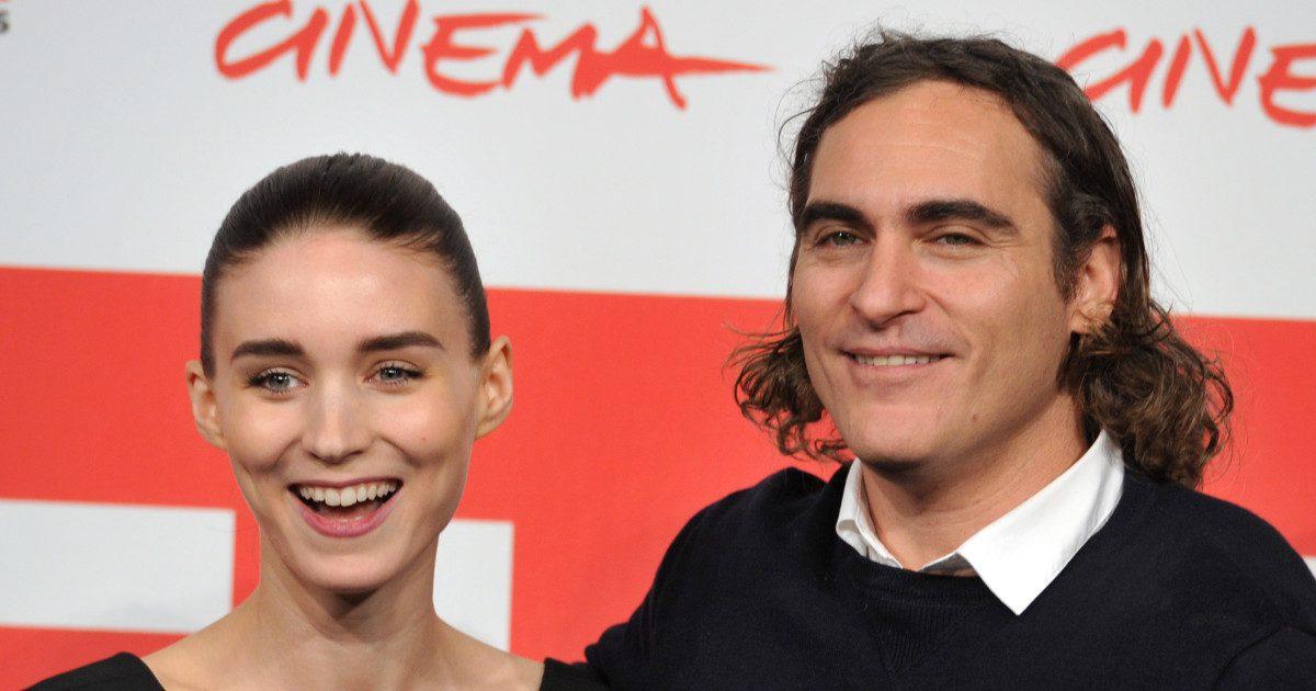 Baby Vegan Onboard - of Rooney Mara and Joaquin Phoenix