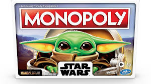 Baby Yoda Monopoly Game
