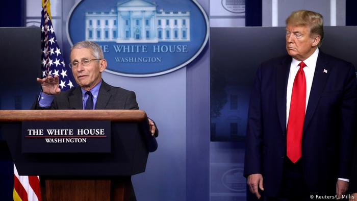 COVID-19: Anthony Fauci and two other members of White House members self-quarantine