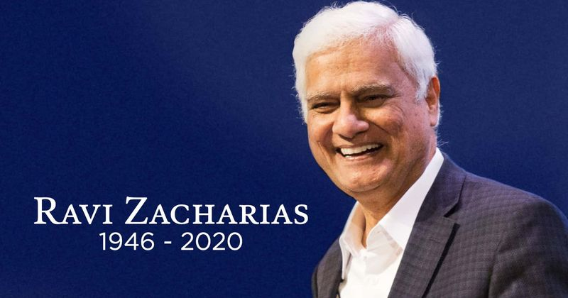 Christian Ravi Zacharias died at the age of 74