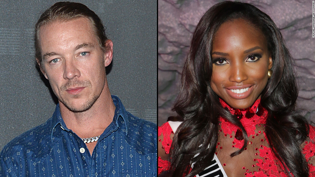 DJ Diplo confirmed he has a son With Model Jevon King