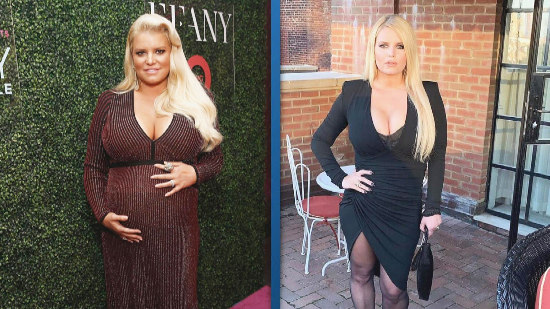 How Jessica Simpson Loses 100 Pounds of her Weight ...