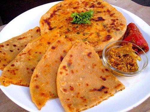 Indian Rice Paratha
