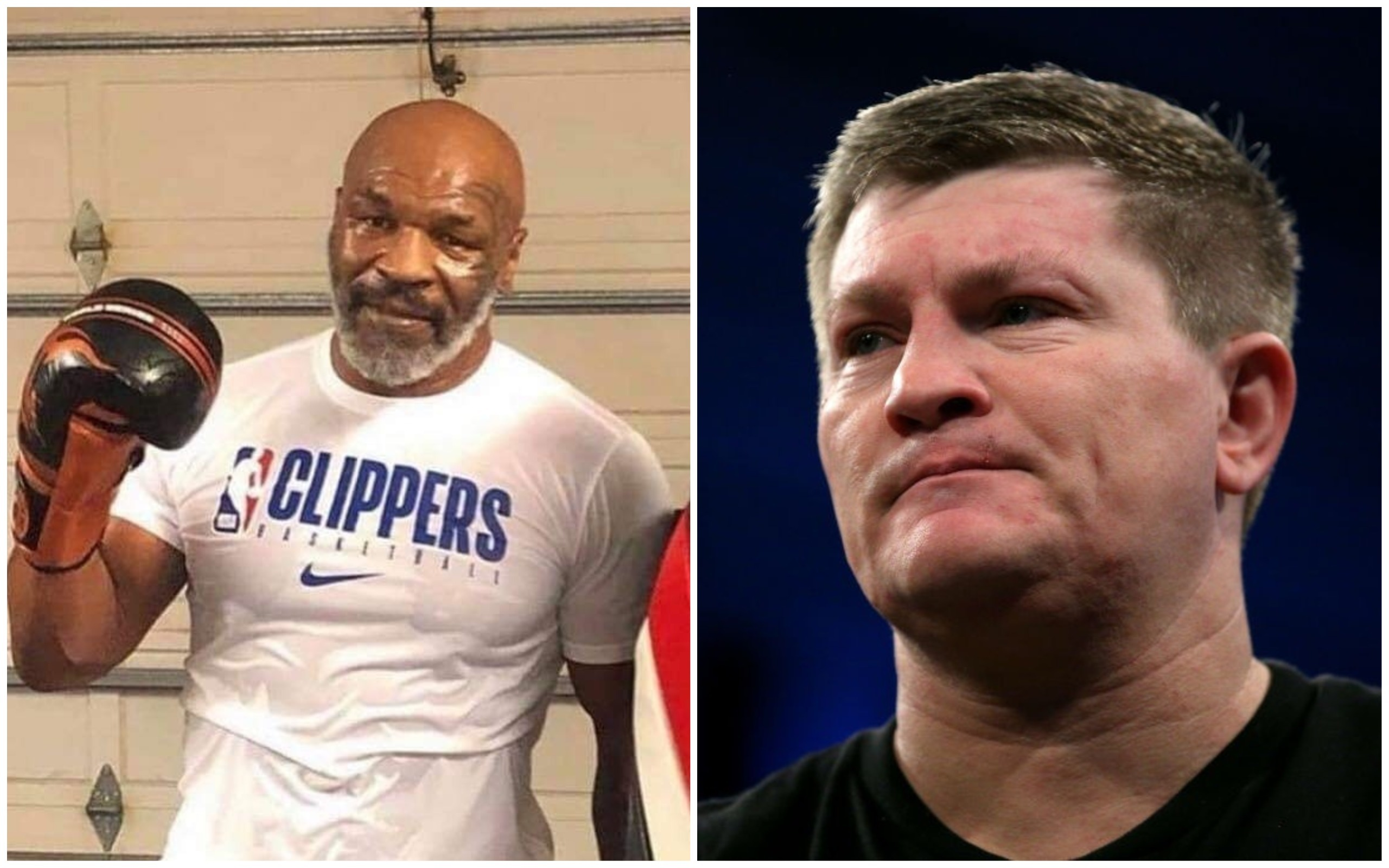I'm right ear waiting - Holyfield would consider trilogy fight with Tyson