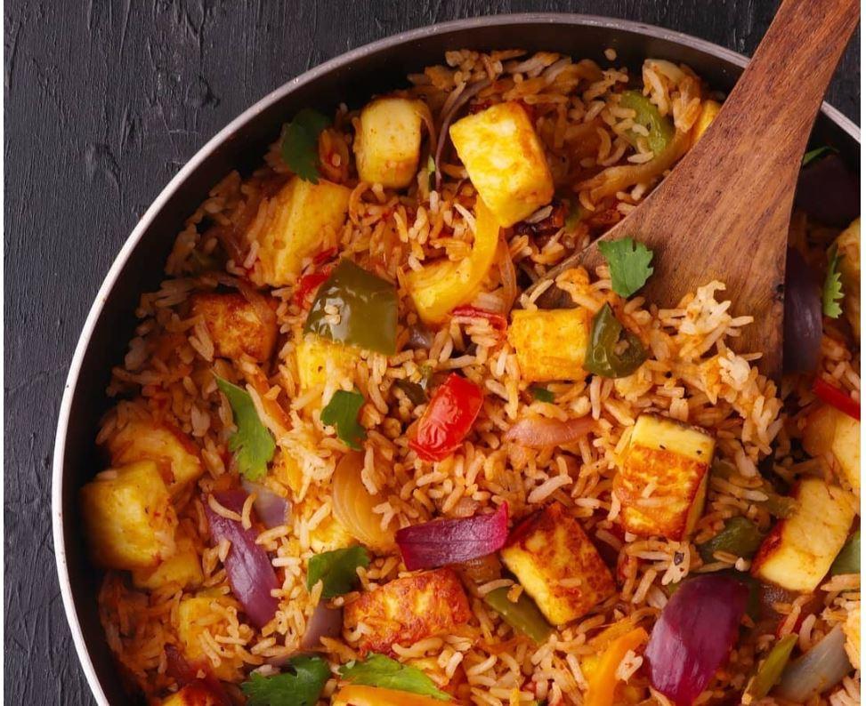 Paneer Tadka Rice