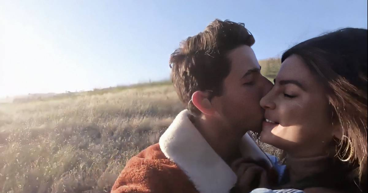 Until We Meet Again, a new song by the Nick Jonas has surprise appearance of Priyanka Chopra showering Nick with kisses