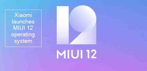 Xiaomi launched MIUI 12 OS