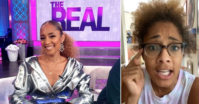 After 6 months of Working on 'The Real' Amanda Seales had not renewed her contract