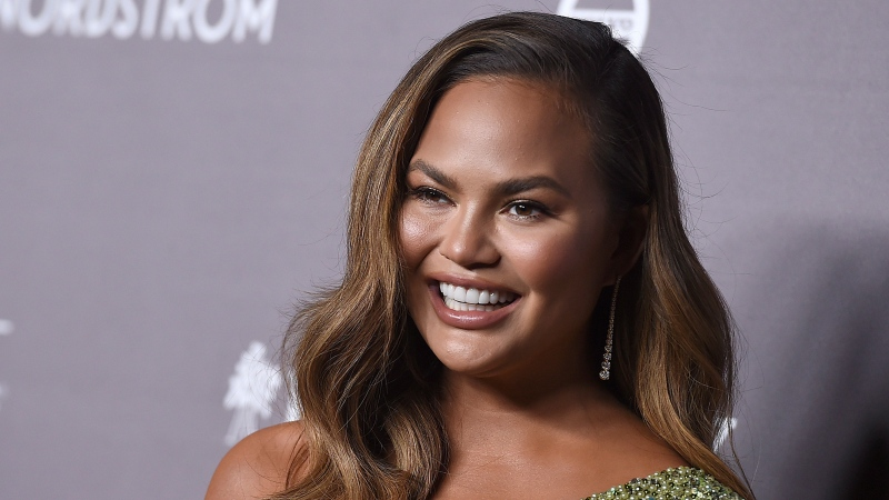 Chrissy Teigen had her breast insert taken out after 10 years