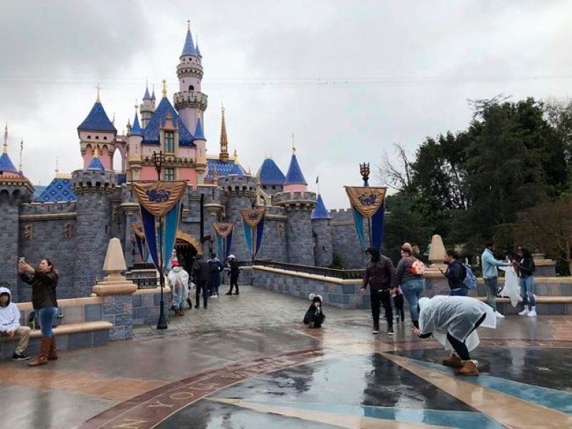 Disneyland in California delayed its planned reopening as coronavirus cases climb