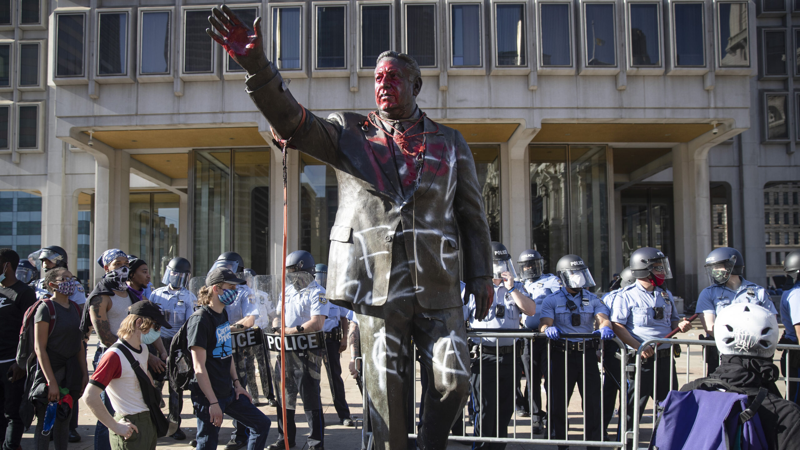 Finally, it is Gone- Frank Rizzo Statue in Philadelphia Removed by Mayor