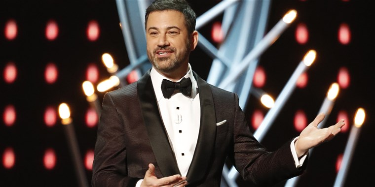 Host for the 2020 Emmys will again be Jimmy Kimmel