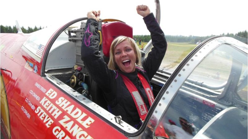 Jessi Combs Featured in Guinness World Record as the Fastest Women On Earth