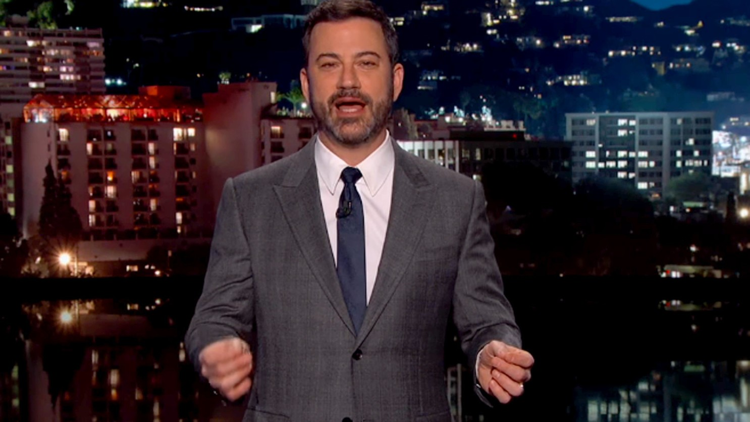 Jimmy Kimmel host of Late-Night Talk Show apologies for the use of Blackface in his show