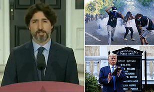 Justin Trudeau Remained Silent for 21 days when asked about Donald Trump