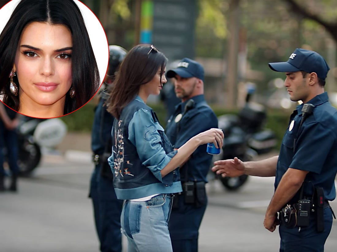 Kendall Jenner criticized by her fans for the Pepsi Commercial and being silent on the On-going Protest
