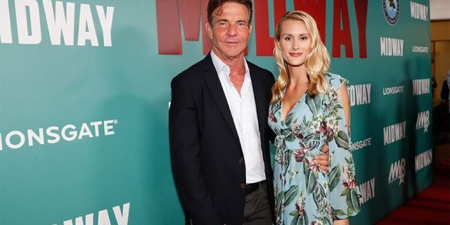 Laura Savoie, 27, and Dennis Quaid, 65, married in Hawaii