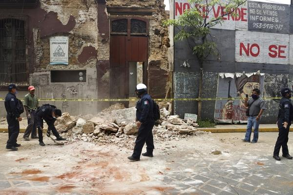 Mexico earthquake of 7.4 Magnitude has shaken South Mexico