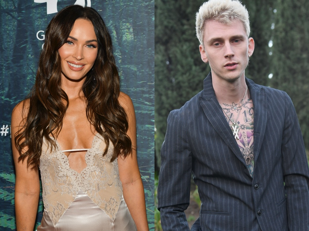 On a date night with Machine Gun Kelly, Megan Fox is looking effortlessly awesome and a beauty.