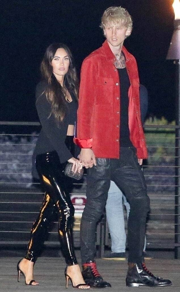 On a date night with Machine Gun Kelly, Megan Fox is looking effortlessly awesome and a beauty