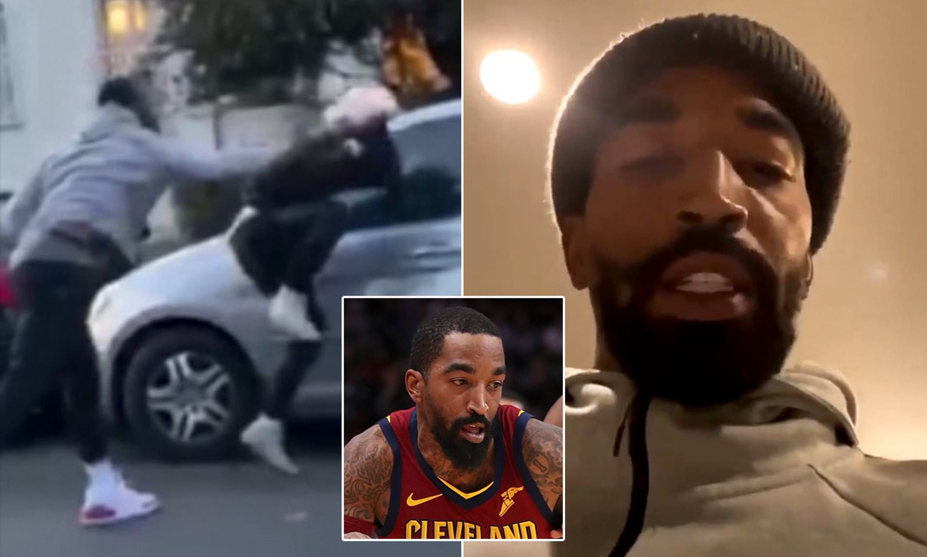 Riots in Los Angeles J.R. Smith, Former NBA star had chased and smashed looter, stating he does not like the crime