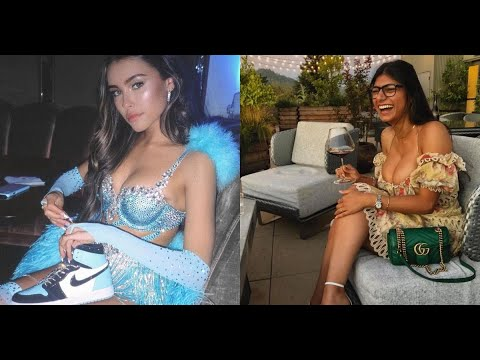 The drama between Mia Khalifa and Madison Beer for promoting unrealistic beauty