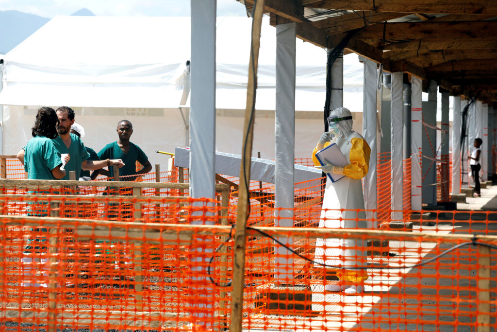 WHO says about Ebola outbreak in Congo for 2nd time
