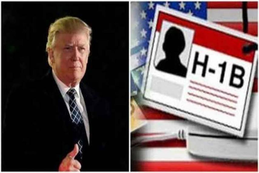 Donald Trump using H1B visa