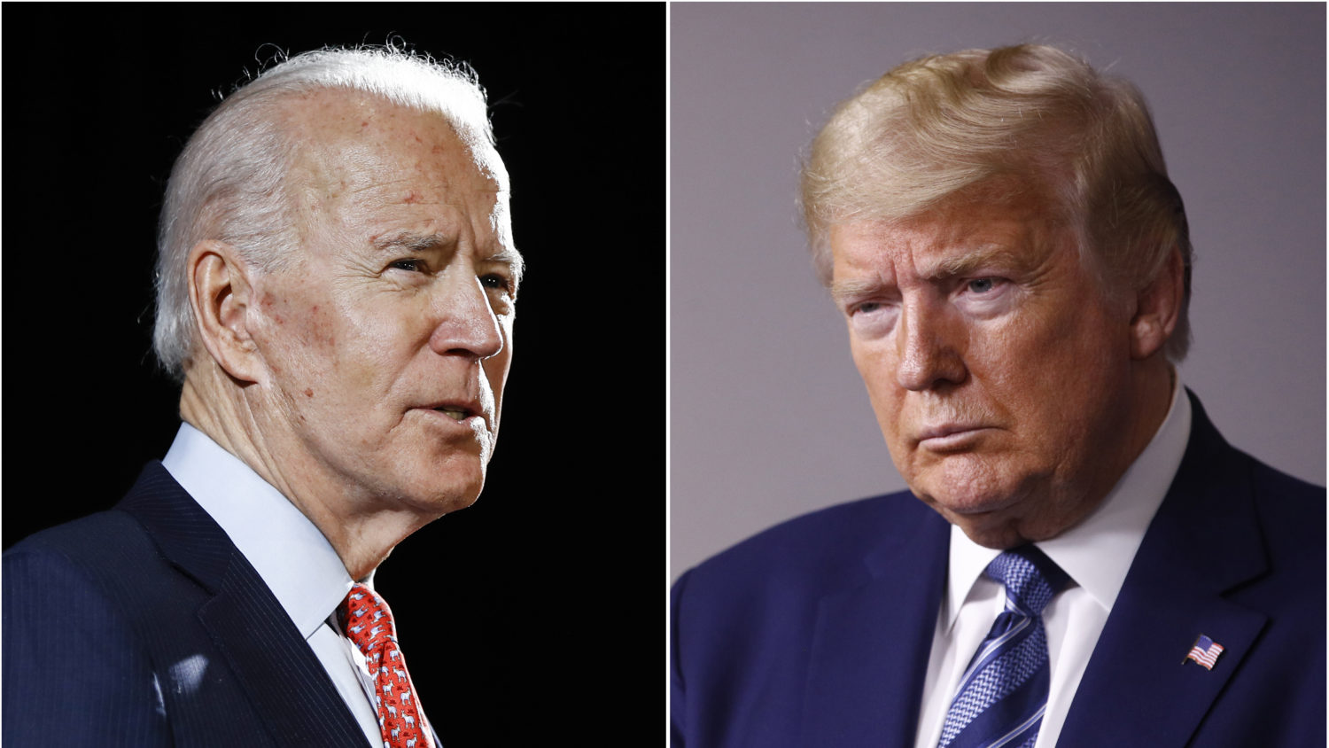 Biden raises more funds than Trump for second month