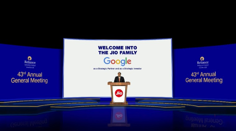 Google is all set to Invest in Reliance Industries Digital Business Jio