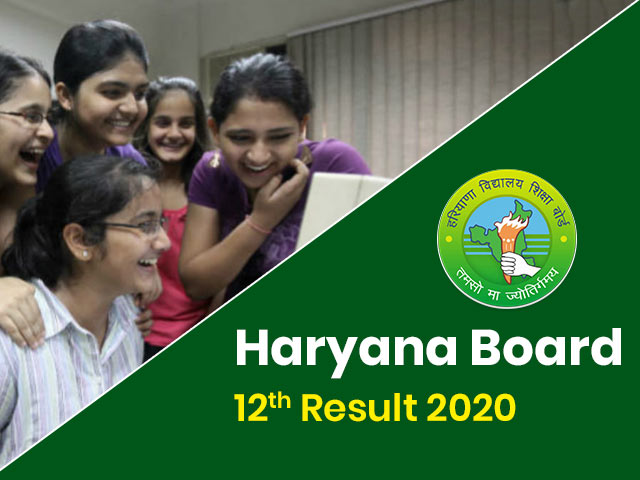 Haryana Board will Declare 12 class Results Today