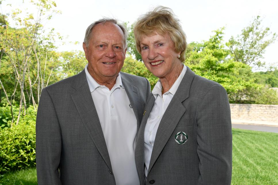 Jack Nicklaus Announced at the Memorial that he and his Wife Barbara contracted COVID-19 early in March-