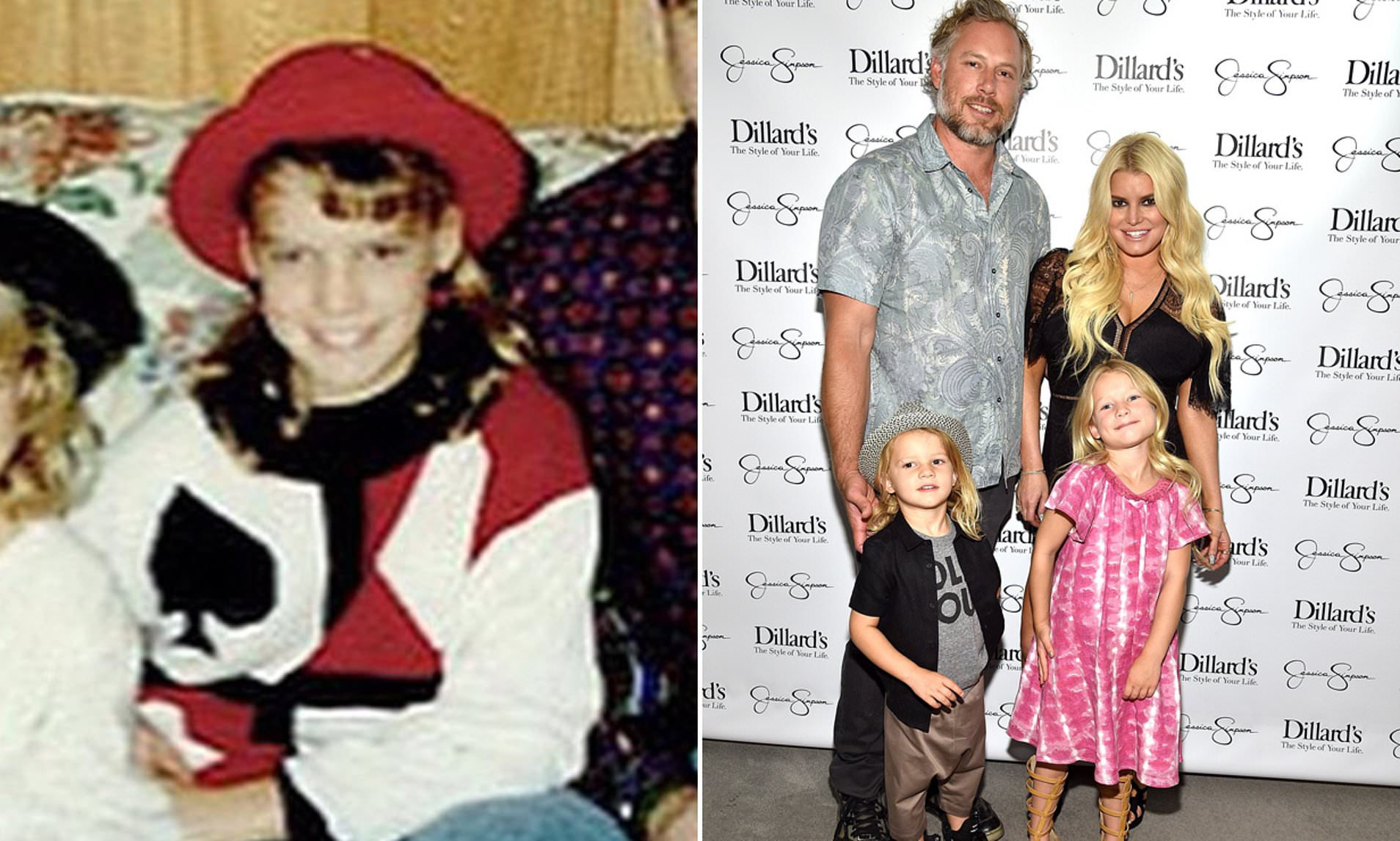 Jessica Simpson Spoke about her being abused as Kid