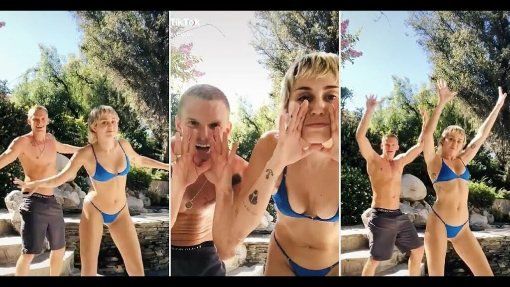 Miley Cyrus Adorably Dances with Boyfriend Cody Simpson
