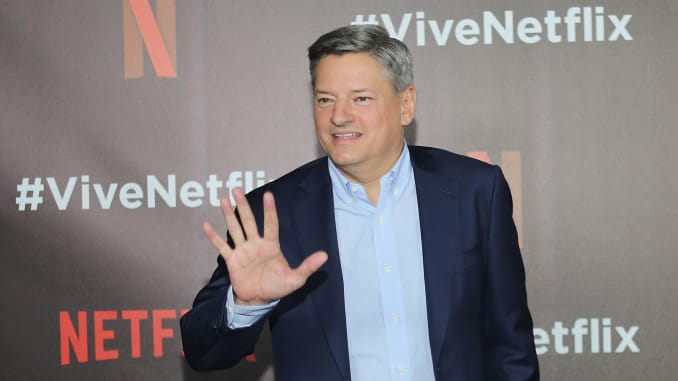 Netflix Stocks Stumble and decided to make Ted Sarandos as co-CEO