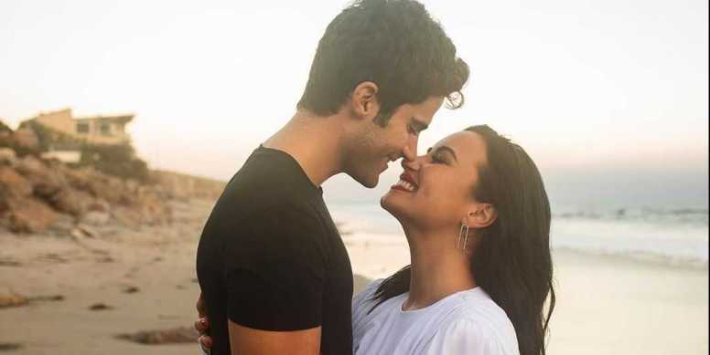 Surprising- Demi Lovato and Max Ehrich is engaged