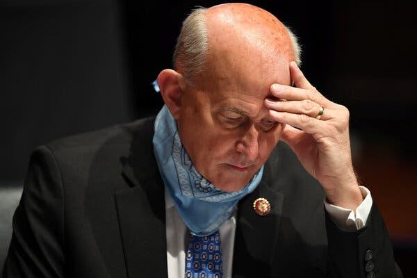 U.S Representative, Louie Gohmert, tested positive for Coronavirus