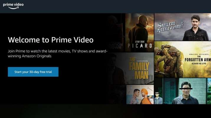 Viewing experience with friends and family in Watch Party by the Amazon Prime Video for US Prime members