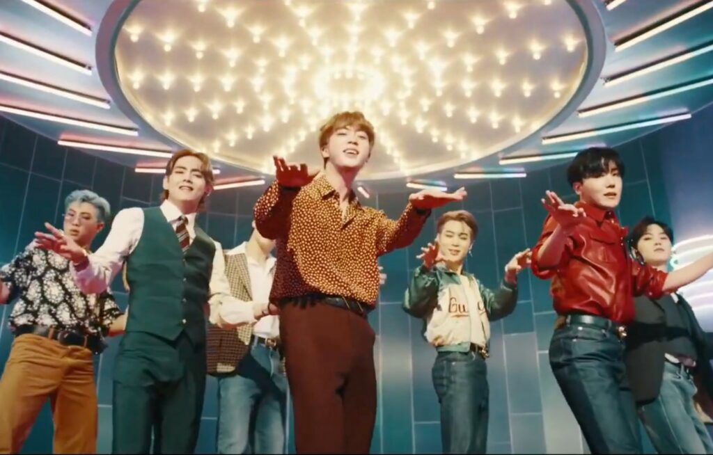 """BTS is all Set with its First English Song """"Dynamite""""- Watch Now"""