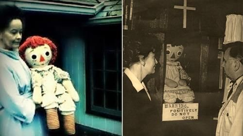 Has Annabelle Doll disappeared from Warren Museum?