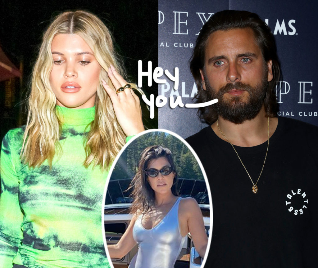 Is Everything Good Between Sofia Richie and Scott Disick as Scott is having Quality Time with Kourtney Kardashian?