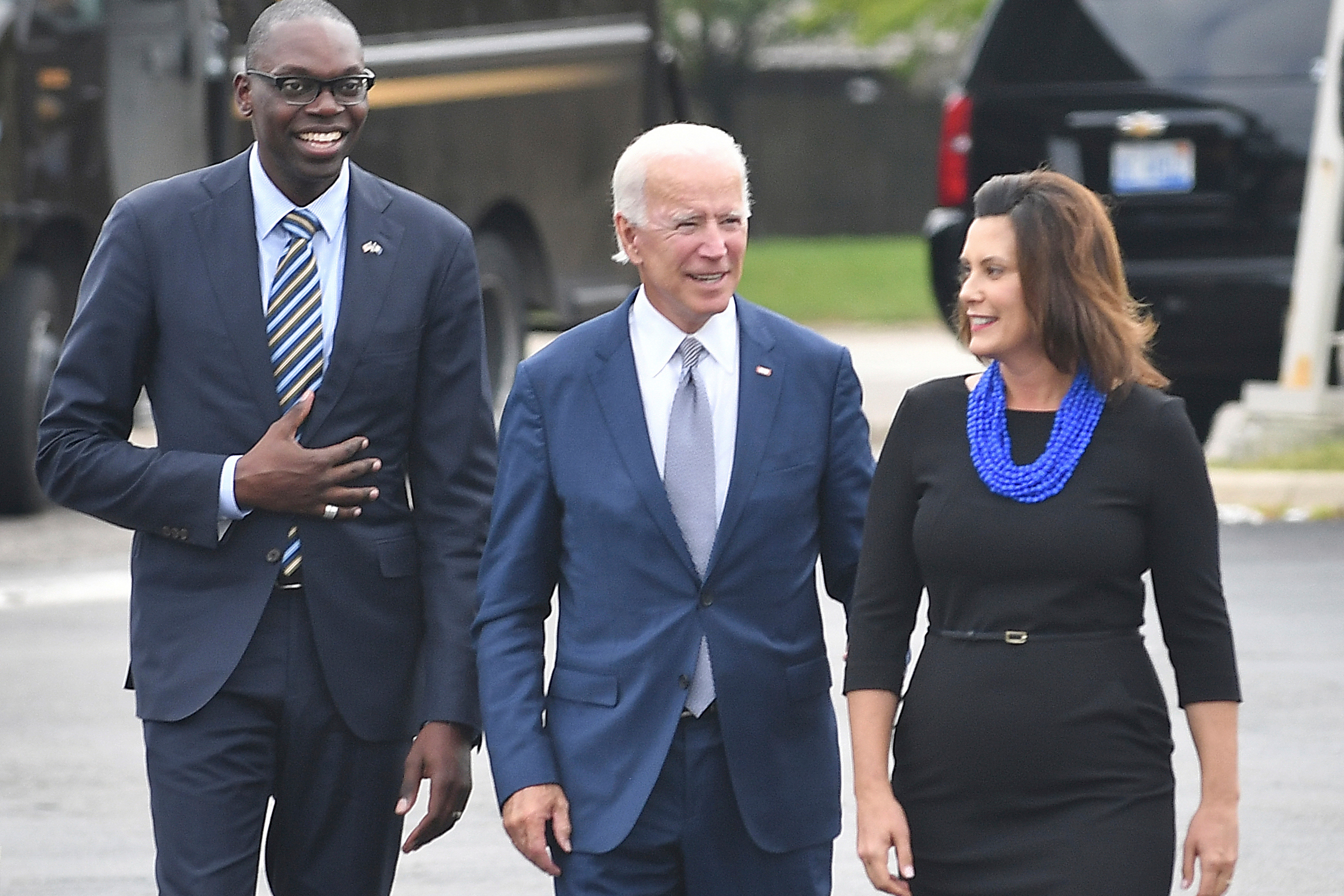 Is Joe Biden Considering Michigan Gov. Gretchen Whiter as his VP?