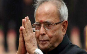 Pranab Mukherjee on Ventilator Support