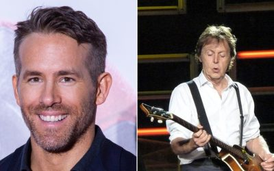 Paul McCartney and Ryan Reynolds nominated for First nation chief