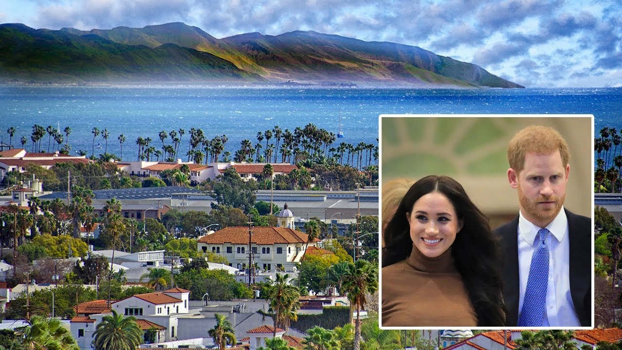 Prince Harry and wife Meghan Markle are Starting Their New Life in Santa Barbara