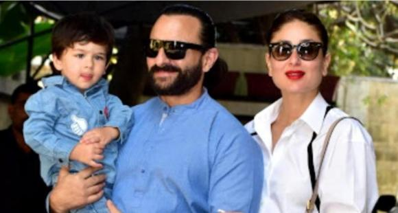 Soon to be Mom Kareena Kapoor Khan Showing all Love to Husband Saif Ali Khan in a shared BTS video of Working with Him