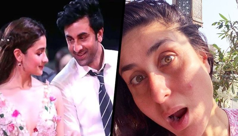What does the didi, Kareena Kapoor need to say about the love story of cousin's Ranbir Kapoor and Alia Bhatt